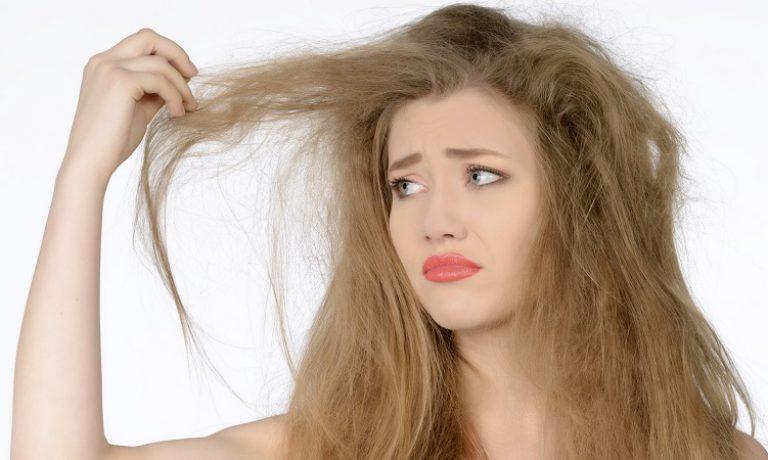 آسیبدیدگی مو با استفاده از رنگ مو